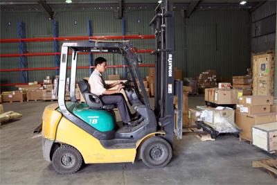 Dịch vụ xe nâng Thành Lâm