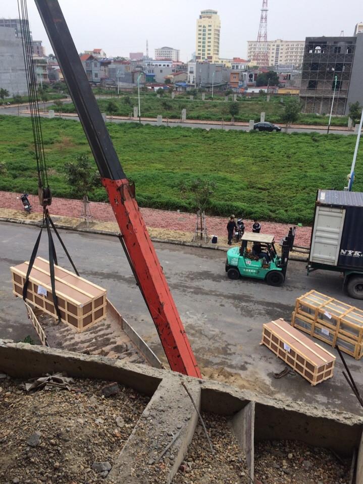 dịch vụ nâng hạ thang máy tại chung cư đông hải