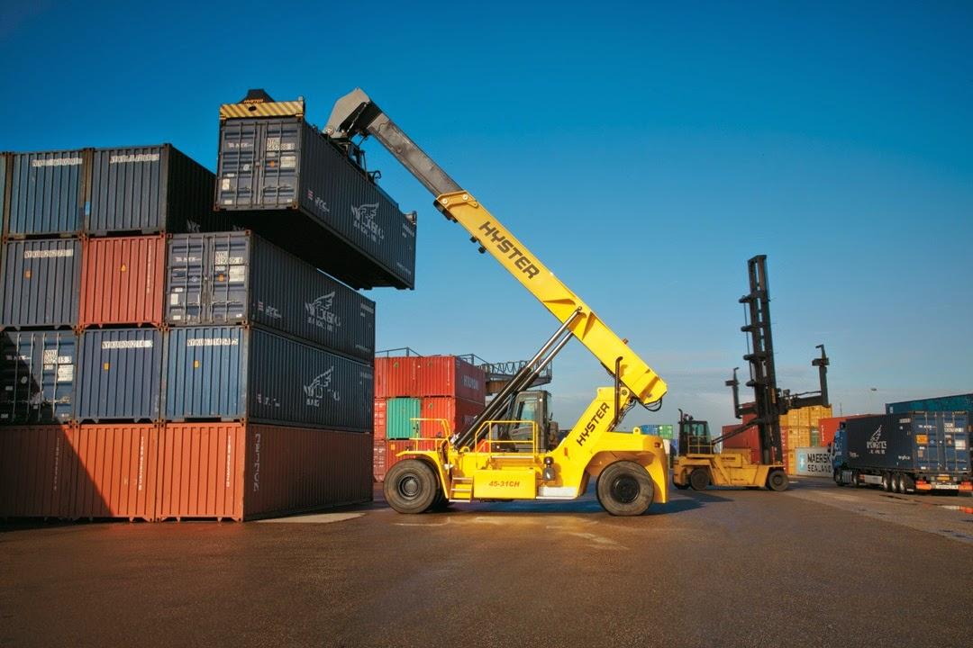 dịch vụ xe nâng tại cảng